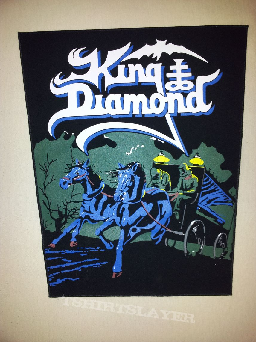 King Diamond Abigail Backpatch