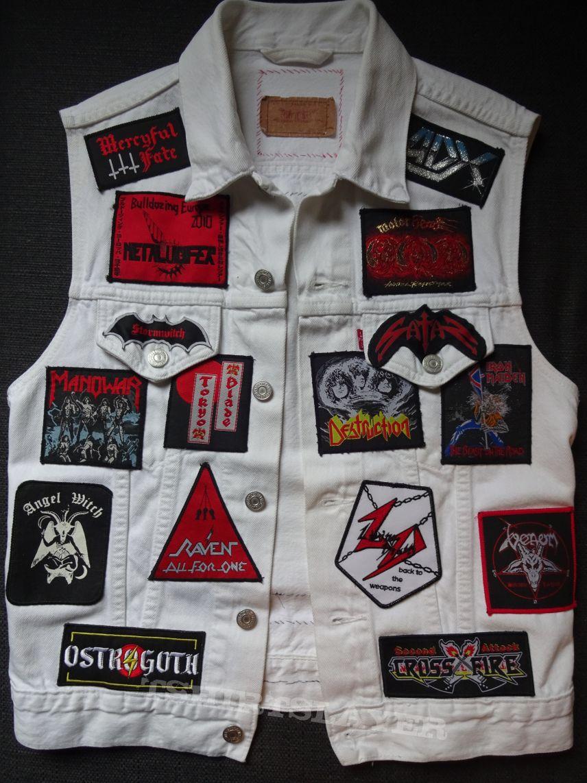 Second Metal vest Heavy / Speed / Thrash / NWOBHM