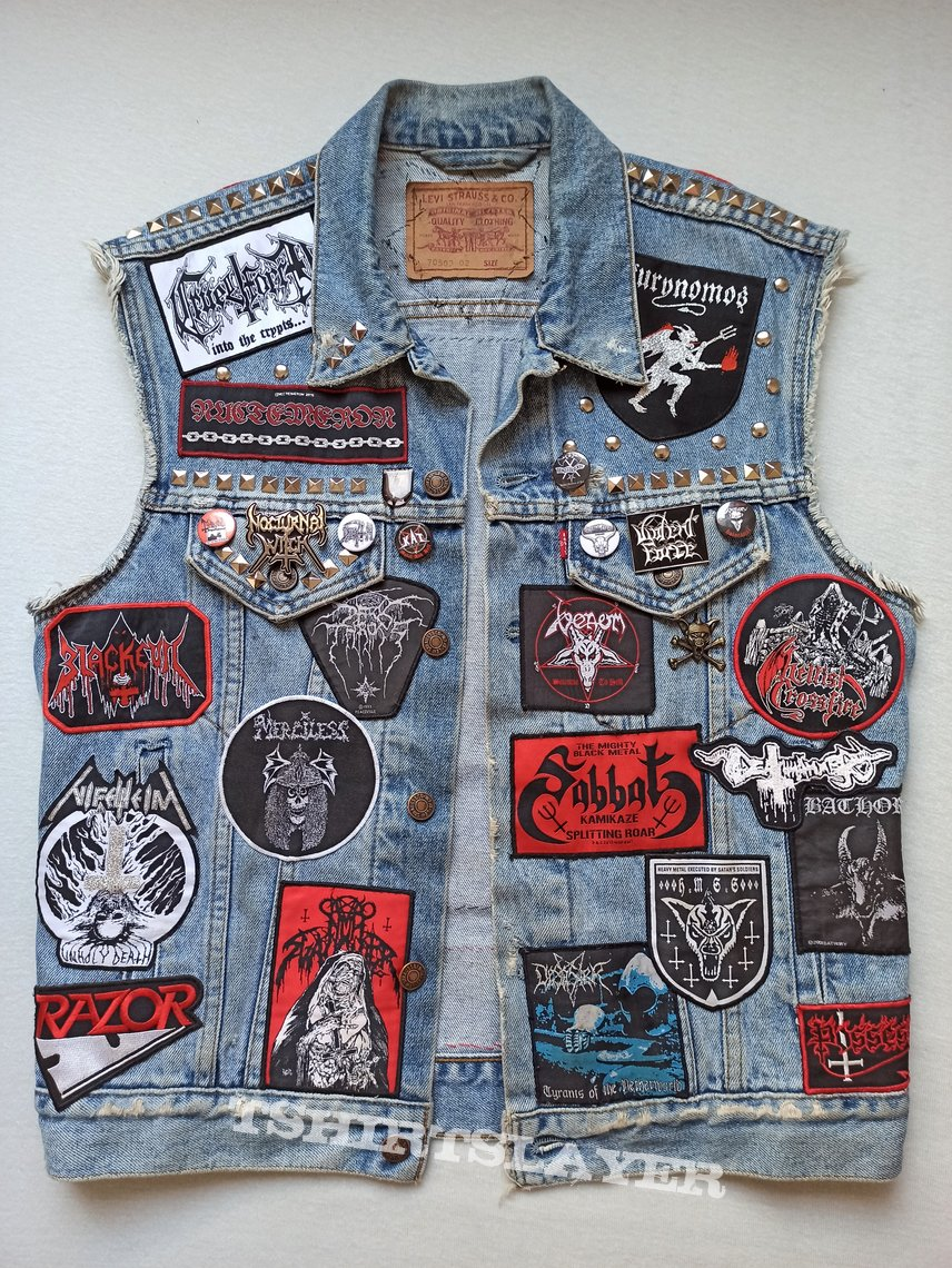 Black / Thrash vest September 14, 2020 [Update]