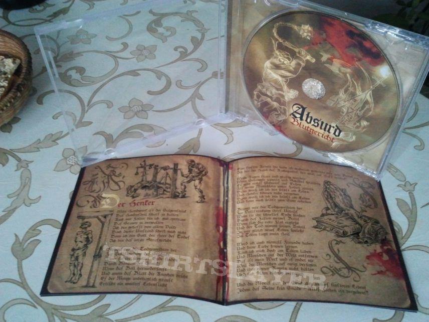 """Absurd """"Blutgericht"""" CD"""