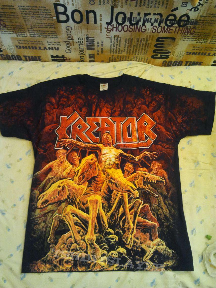 """Kreator """"Phantom Antichrist"""" all-over t-shirt"""