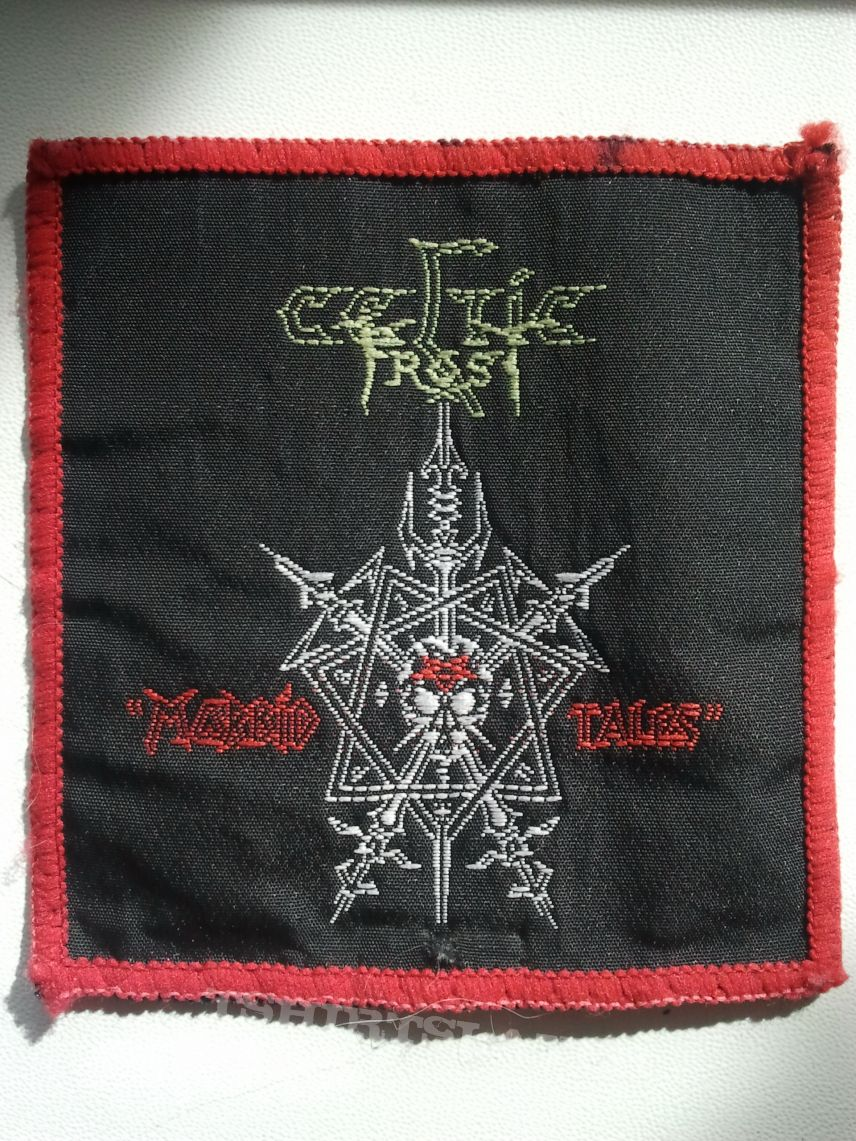 "Celtic Frost ""Morbid Tales"" original vintage woven patch"