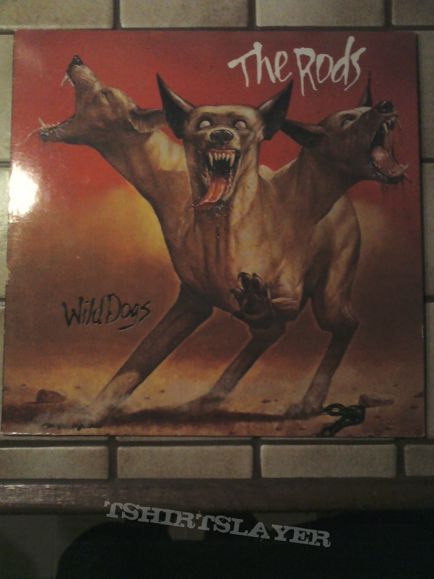 Other Collectable - The Rods - Wild Dogs '82 vinyl