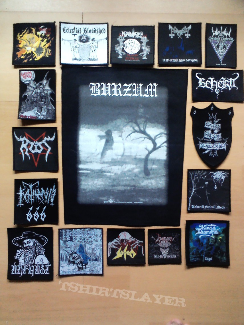 Patch - patches for my new vest so far