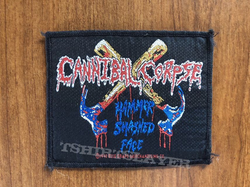 Blood Logo Patches