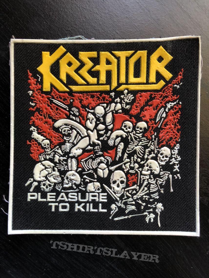 Kreator - Pleasure to Kill Rubber Patch