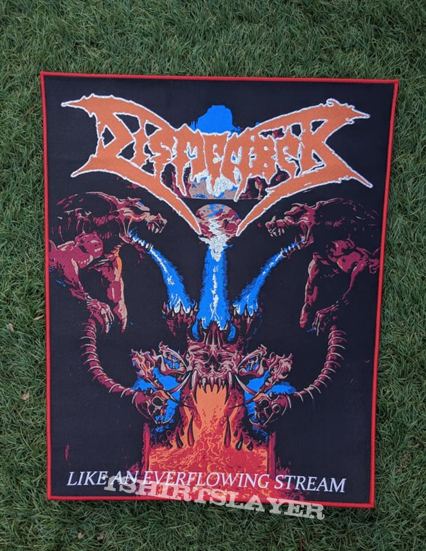 Dismember Woven Back Patches