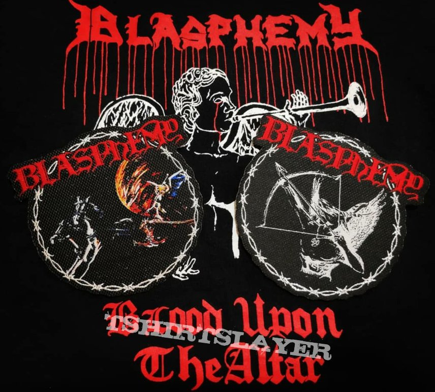 Blasphemy Official Woven Patches!