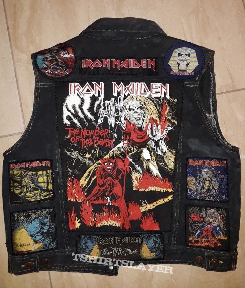 Iron Maiden vest update