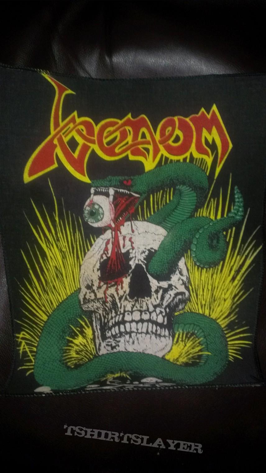 Venom Snake Through Skull Patch Tshirtslayer Tshirt And