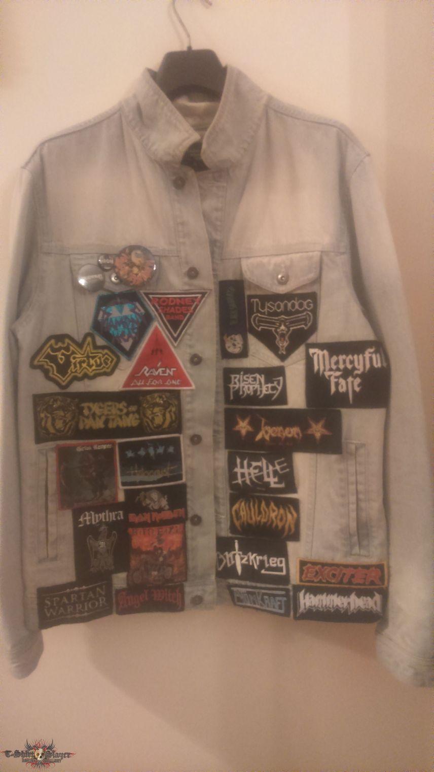 NWOBHM jacket in progress