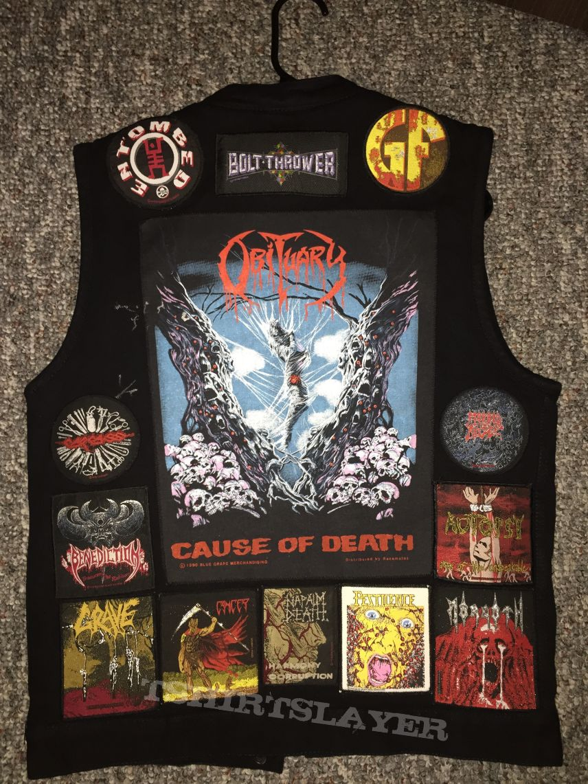 Death Metal Vest 666% Completed!