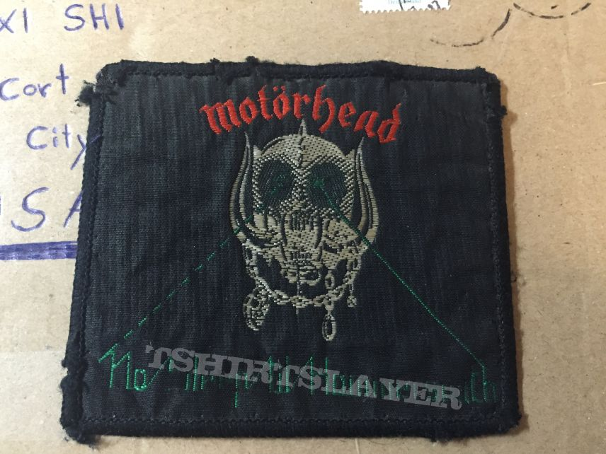 Motorhëad Patch.