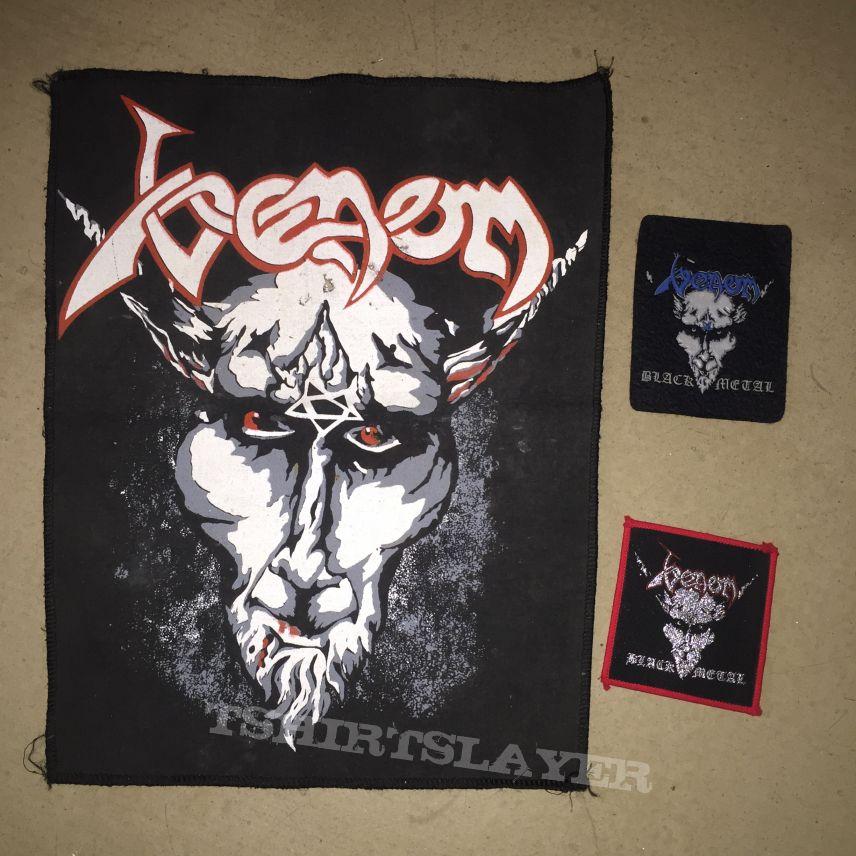 Venom - Black Metal Vintage Backpatch