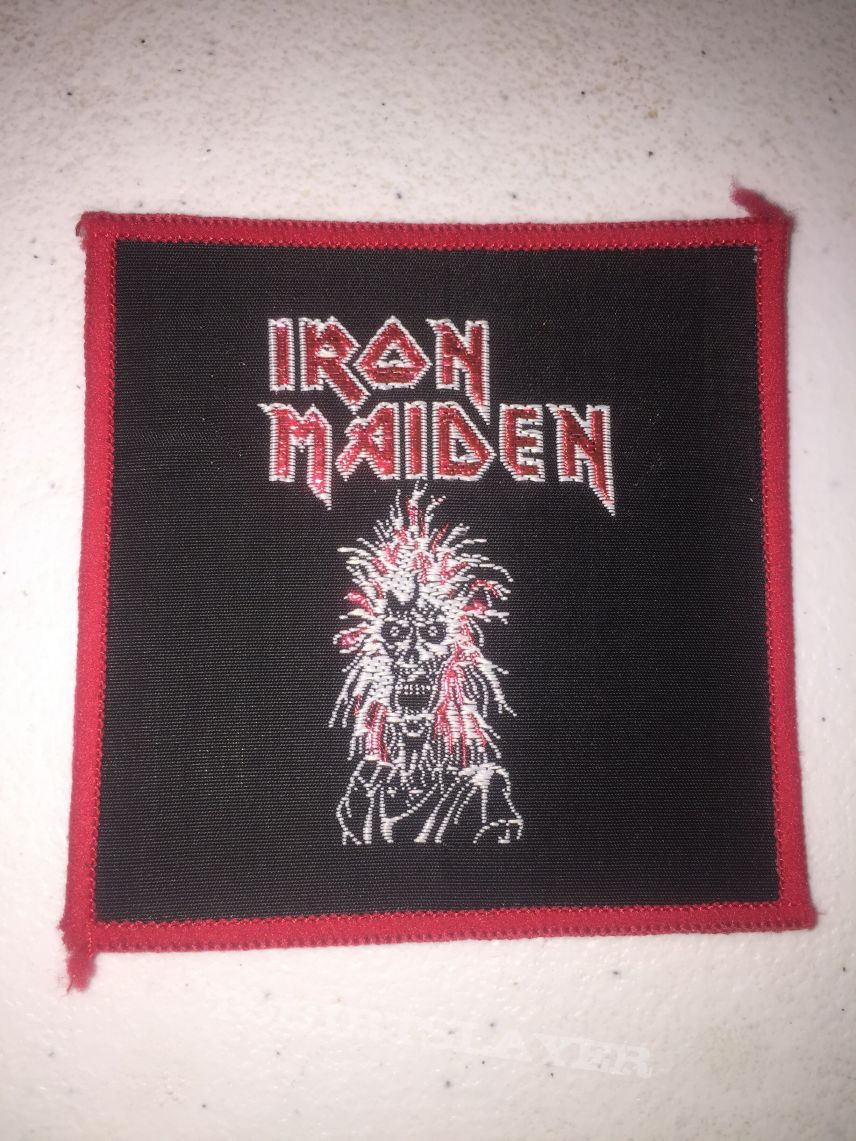 Iron Maiden S/T Patch