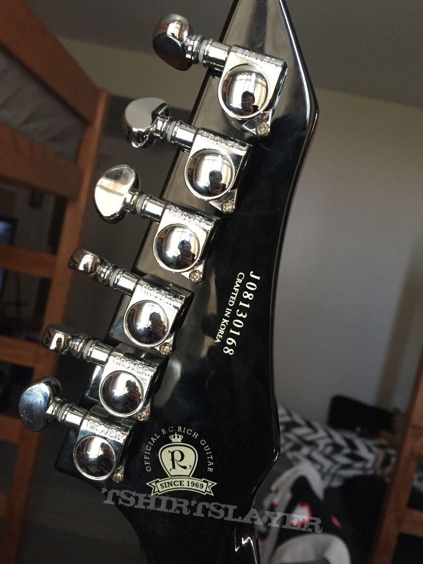 B.C. Rich Stealth Chuck Schuldiner Tribute Guitar