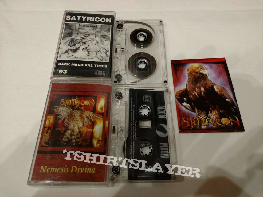 Satyricon rare presses tapes