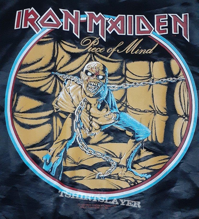 Iron Maiden - Piece Of Mind Satin Jacket 1983