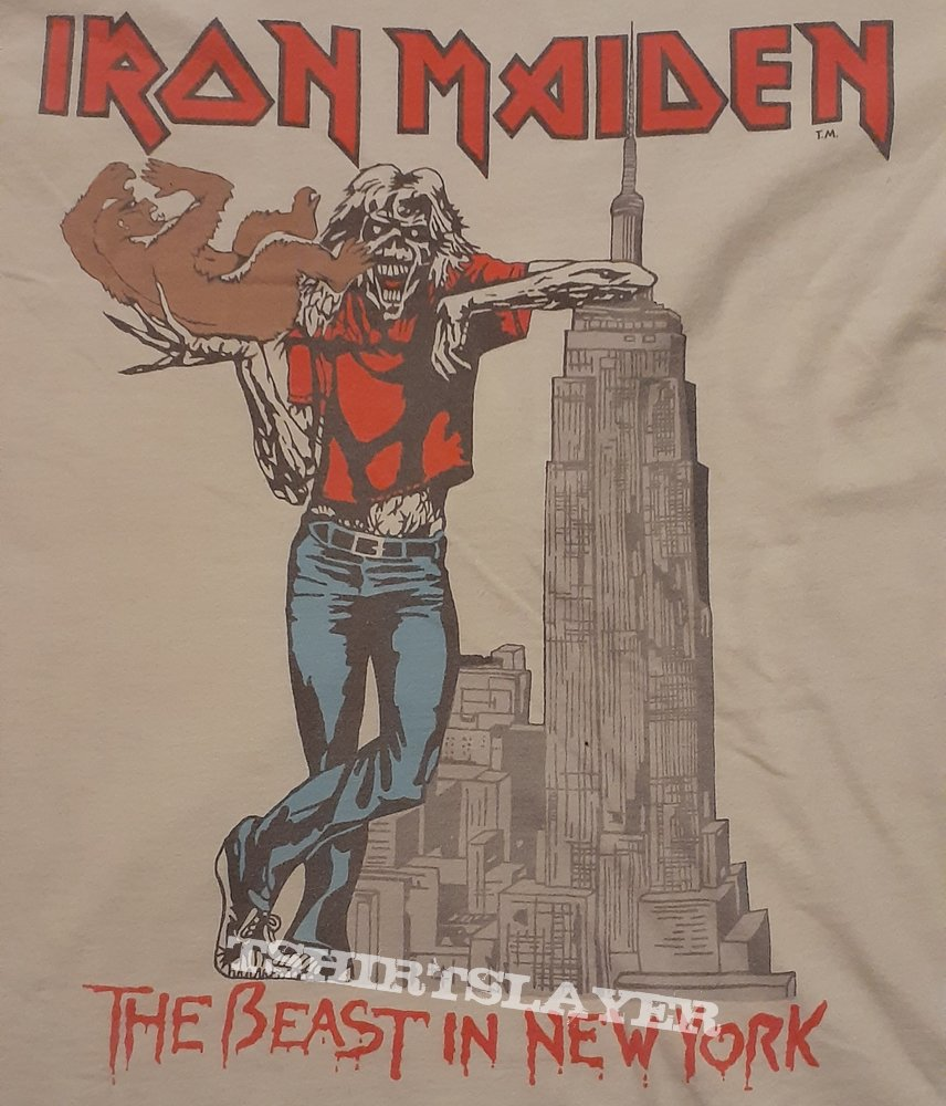 Iron Maiden - The Beast In New York 1982 Remaster(2019)