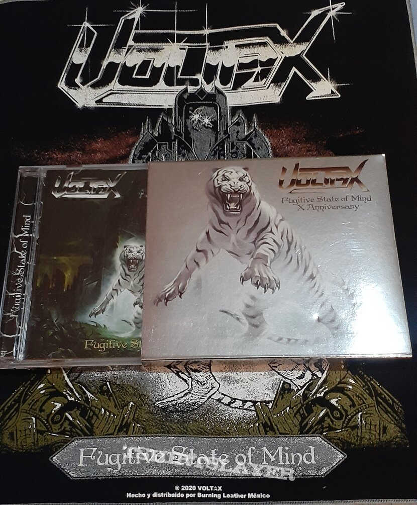 Voltax - Fugitive State Of Mind 10th Anniversary Deluxe Edition CD