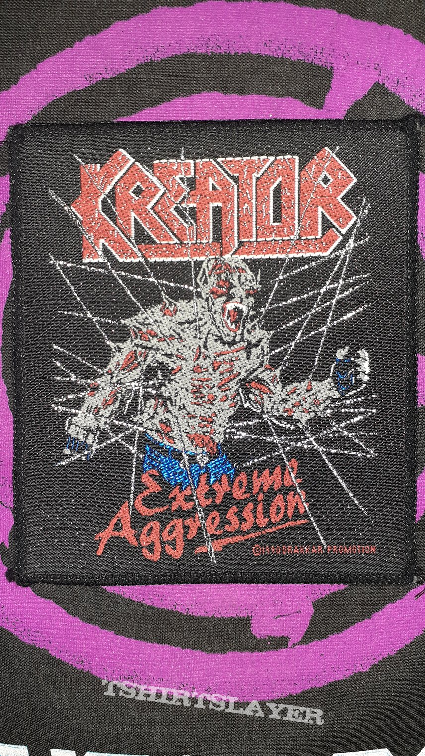 Kreator - Extreme Aggression 1990 Patch