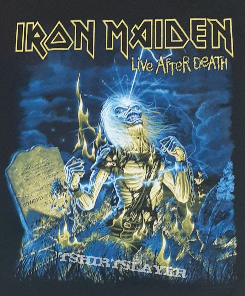 Iron Maiden - Live After Death / Legacy Of The Beast  2019 American / South American Tour Shirt