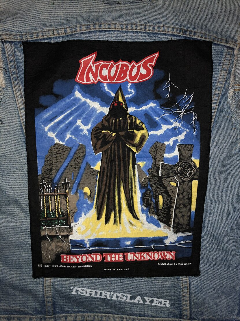 Incubus - Beyond The Unknown Backpatch 1991
