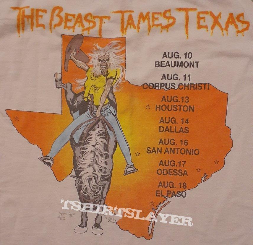 Iron Maiden - Texas 1982 Jersey Remaster(2019)