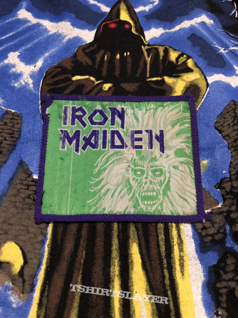 Iron Maiden - S/T 1980 Patch