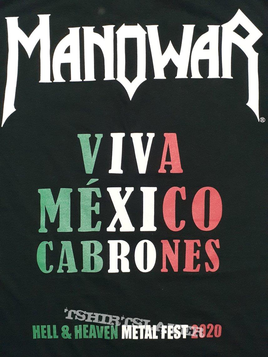 Manowar The Final Battle Mexico Event Shirt 2020