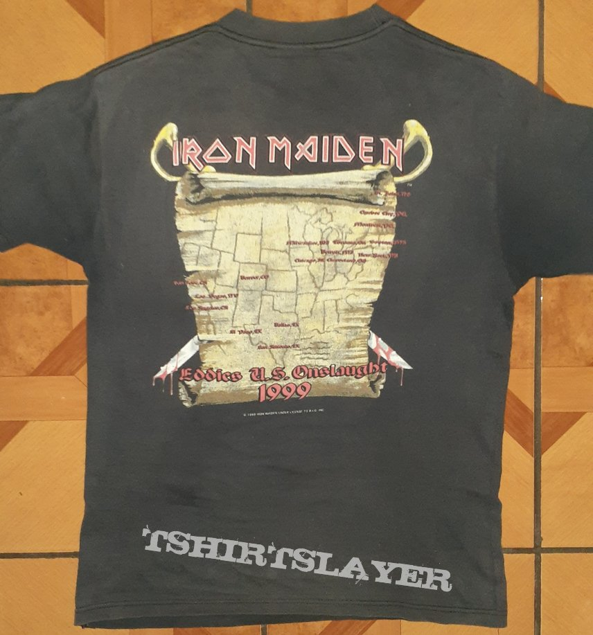 Iron Maiden - The Trooper 1999 Tourshirt