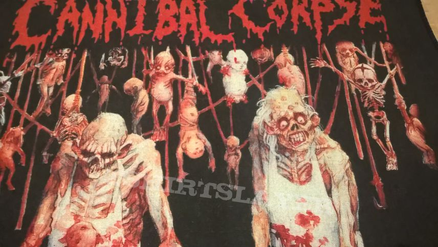 """Cannibal Corpse """"Butchered at Birth"""" Back Patch"""