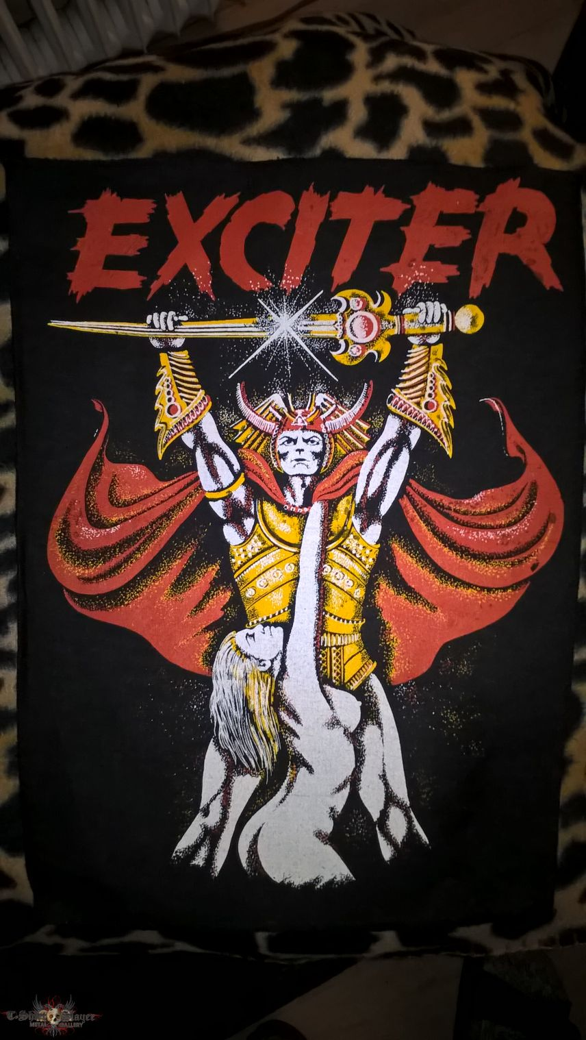 """Exciter """"Long live the Loud"""" Vintage Back Patch"""