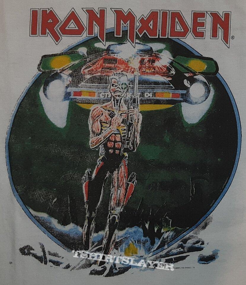 Iron Maiden Somewhere on Tour 87 Shirt