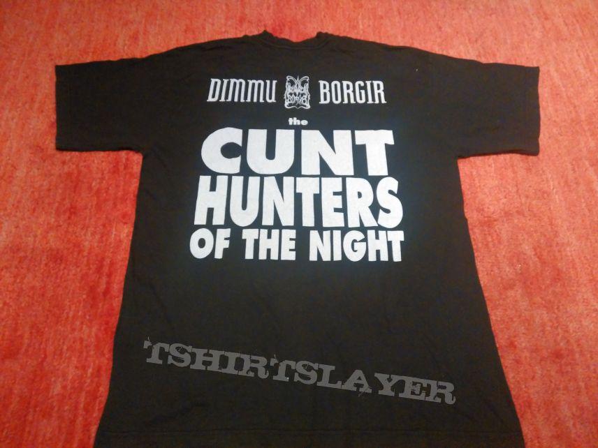 Dimmu Borgir The Cunt Hunters Of The Night Shirt Tshirtslayer