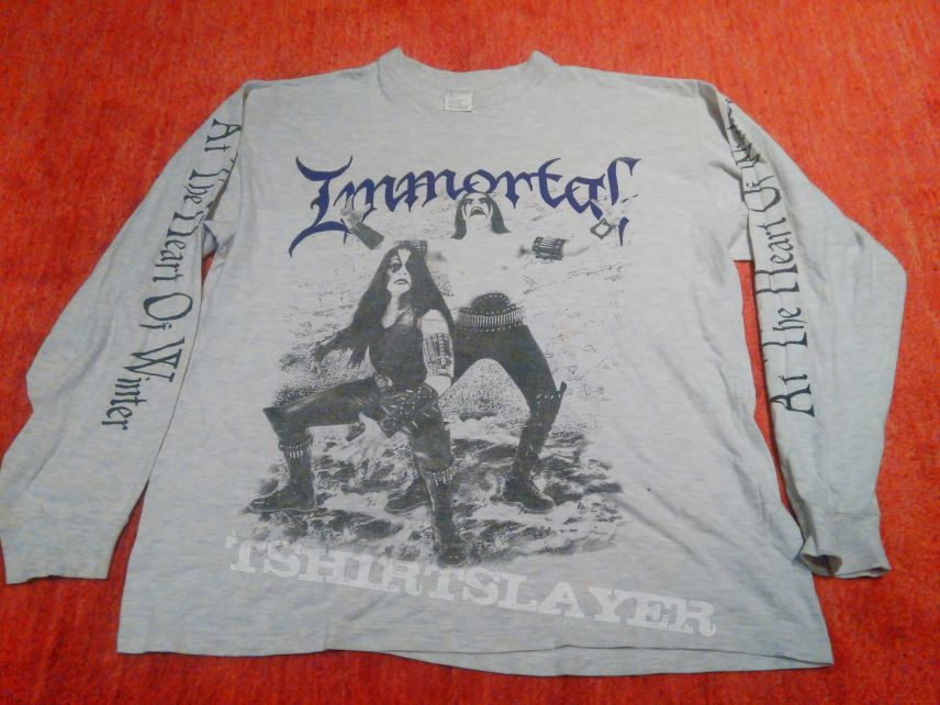 Immortal at the heart of winter vintage long sleeve