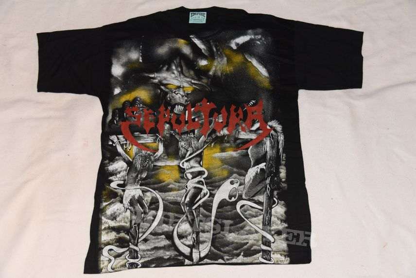 Sepultura morbid visions shirt