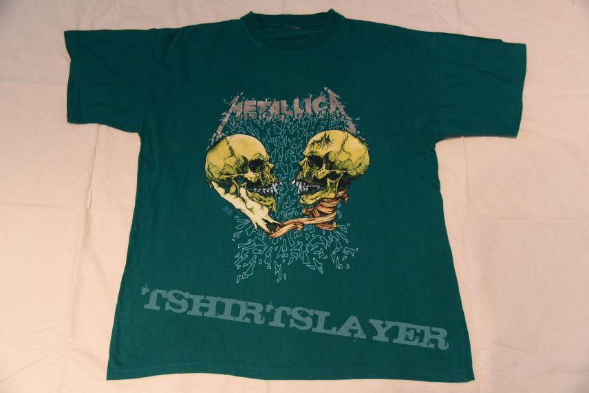 Metallica sad but true shirt GREEN COLOR