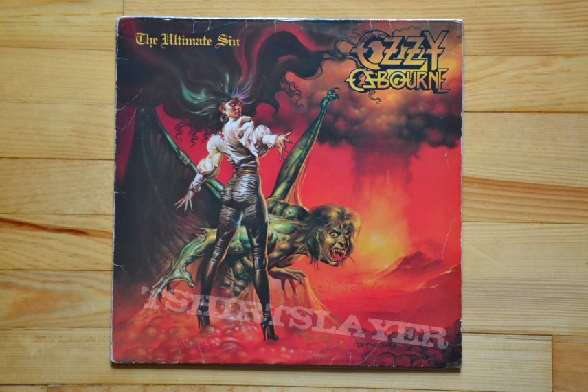 Ozzy Osbourne - Ultimate Sin LP 1986