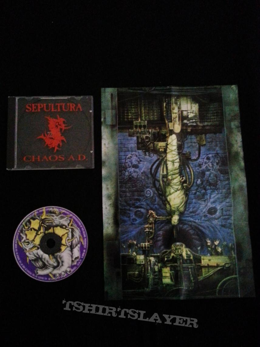 Sepultura - Chaos A D - Tin Box ReleaseSepultura Chaos Ad Album