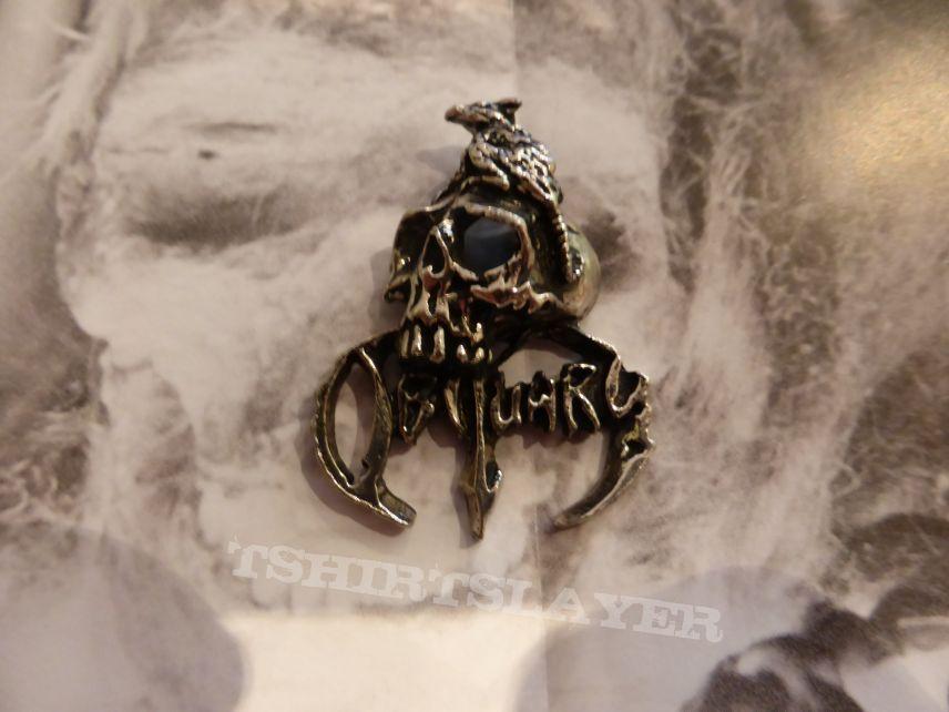 Obituary Skull pendant
