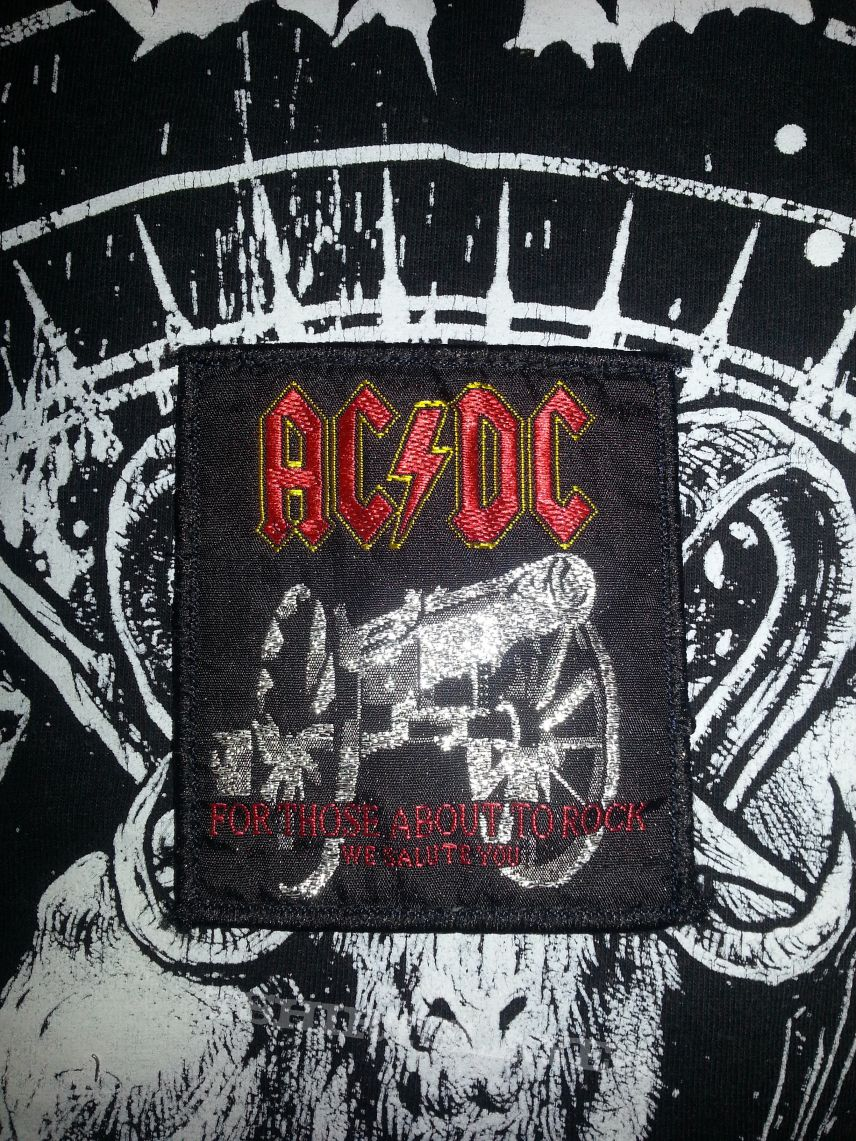 AC/DC - For Those About To Rock We Salute You Patch