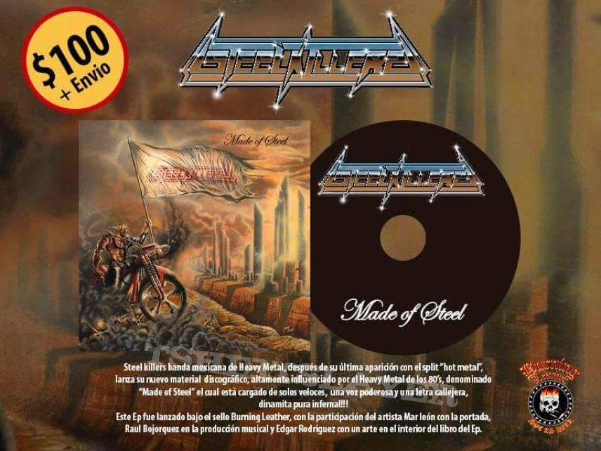 "Steel Killers ""Made of Steel"" Official CD"