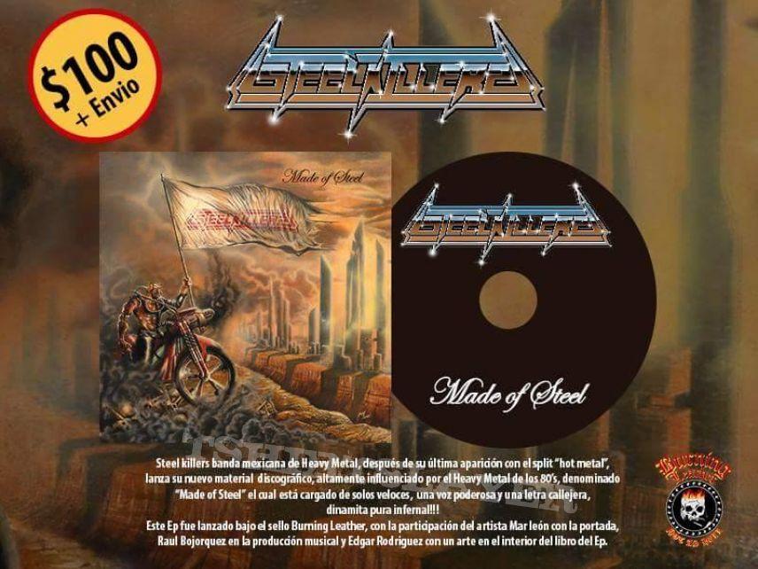 "Steel Killers ""Made of Steel"" Official CD"