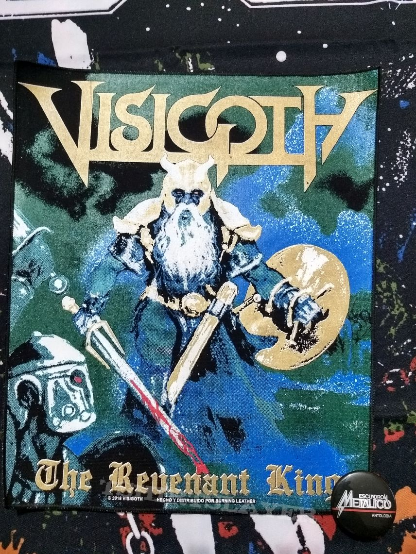 Visigoth - The Revenant king Official Backpatch