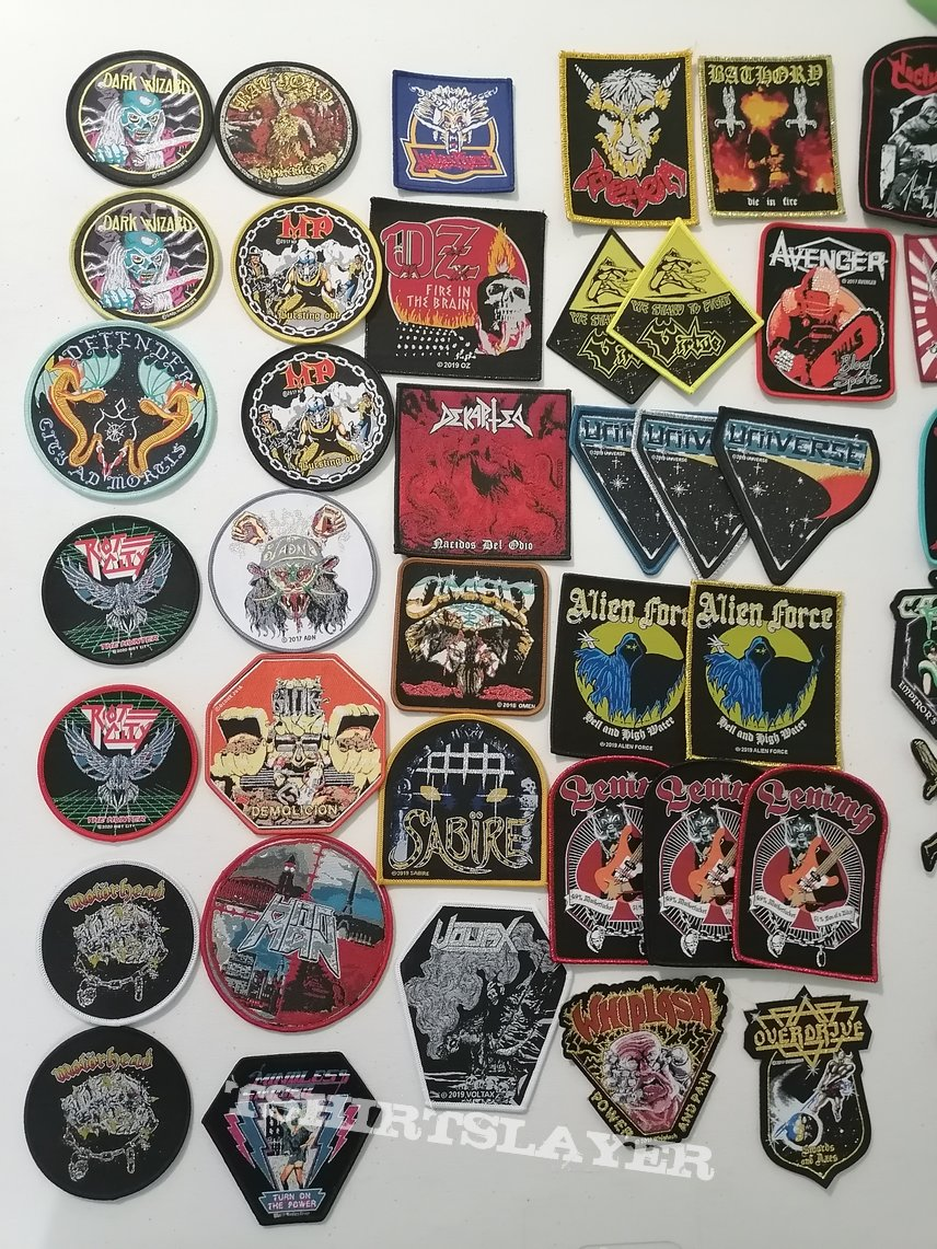 Woven Patches 19/03 /2020