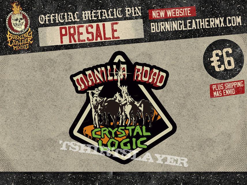Manilla Road - Crystal Logic Official Pïn