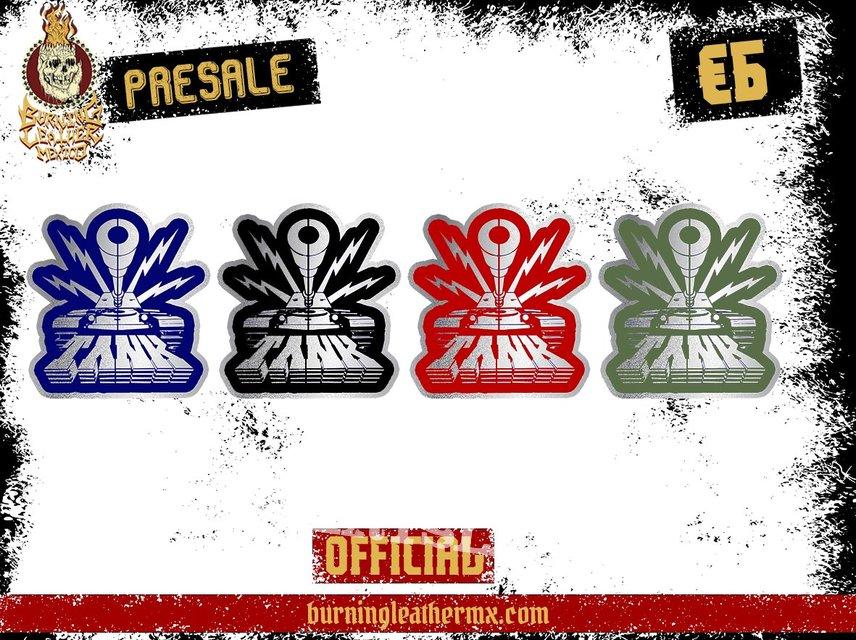 TANK (NWOBHM) Official Metal Pins