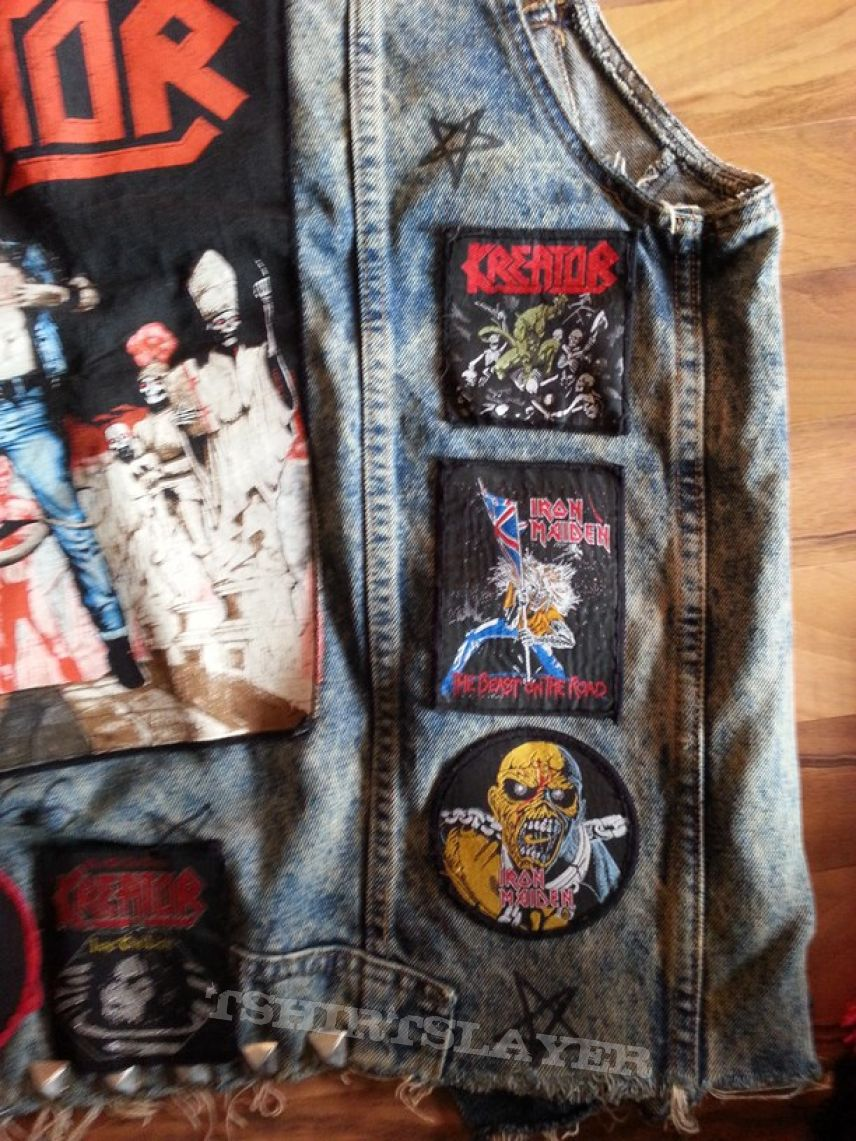 My battle-vest from 1988