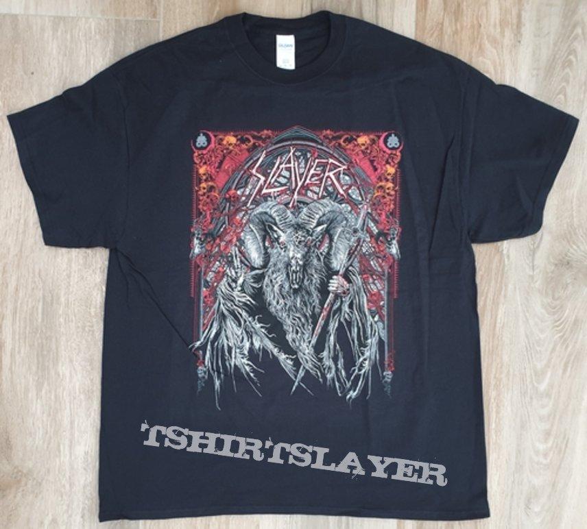 Slayer tour shirt 2018